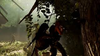 Shadow of the Tomb Raider   PS4 Combat Gameplay  Lara Croft new Face
