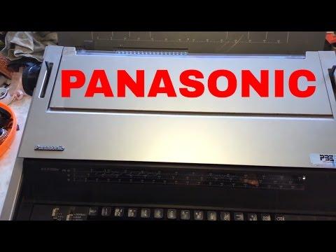 Panasonic Typewriter Word Processor KX-E700m with monitor mnf=1985 still works 2017