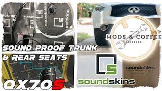 Soundskins: Trunk & Rear Seats for Infiniti QX70 FX50 FX35 FX37