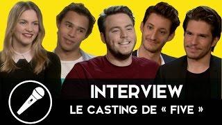 Le casting de FIVE nous parle amitié, coloc et anecdotes de tournage !