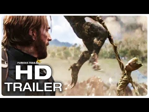 AVENGERS INFINITY WAR Captain America Meets Groot Trailer (NEW 2018) Superhero Movie HD