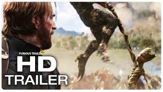 AVENGERS INFINITY WAR Captain America Meets Groot Trailer (NEW 2018) Superhero Movie HD