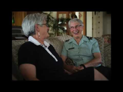 VIDEO: Once silent, gay military couple now 'out and proud'