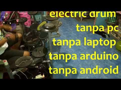 TEST MODUL  DIY Electrik Drum NO ARDUINO Tanpa Pc Tanpa Laptop