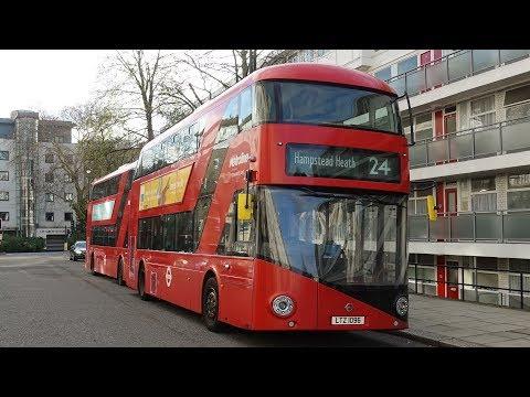 London Buses - Route 24 - Pimlico to Hampstead Heath via Parliament Square