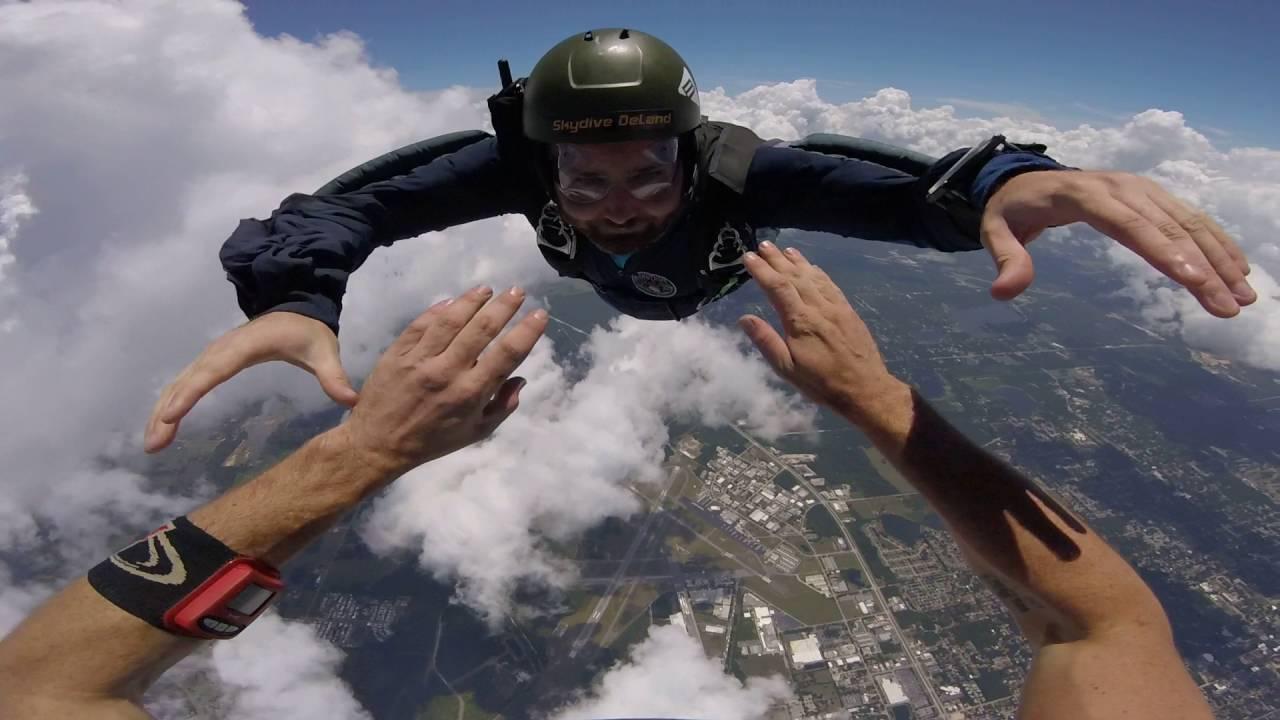 Level 4 Aff Skydive Certification Deland Fl Youtube