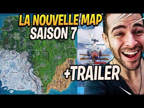 LE TRAILER ET NOUVELLE MAP SAISON 7 AVEC LES AVIONS & LE MODE CREATIF DE FORTNITE !