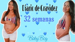 Diário de Gravidez 🤰 32 Semanas-Dores do Terceiro Trimestre