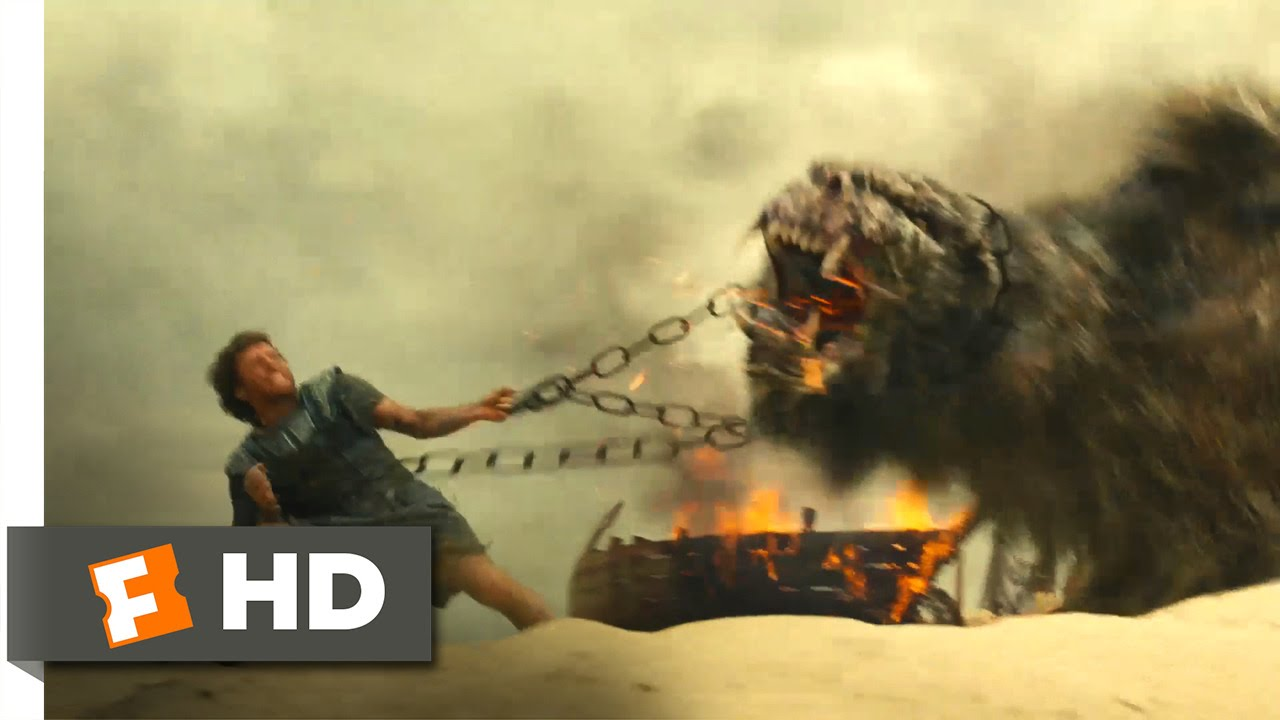 Wrath of the Titans - Chimera Chaos Scene (2/10 ...