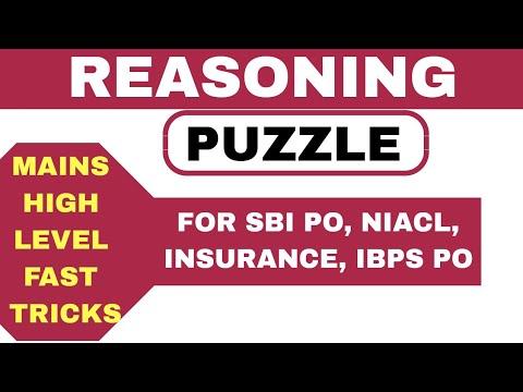 reasoning-puzzle-tricks-for-bank-po- -reasoning-for-sbi-2019- -sbi-po-2019