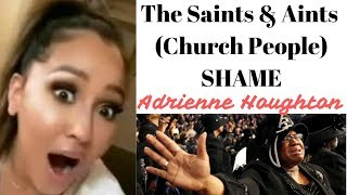 Adrienne Houghton Shamed By Saints | Adrienne At The 2019 Emmy Awards