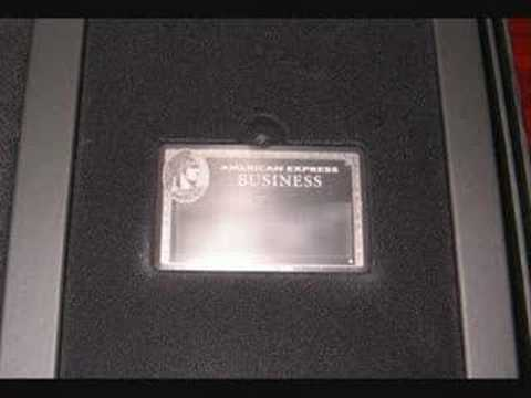 Centurion Black American Express Card The Song Youtube