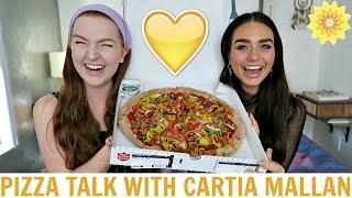 PIZZA TALK #17 WITH CARTIA | MEGHAN HUGHES