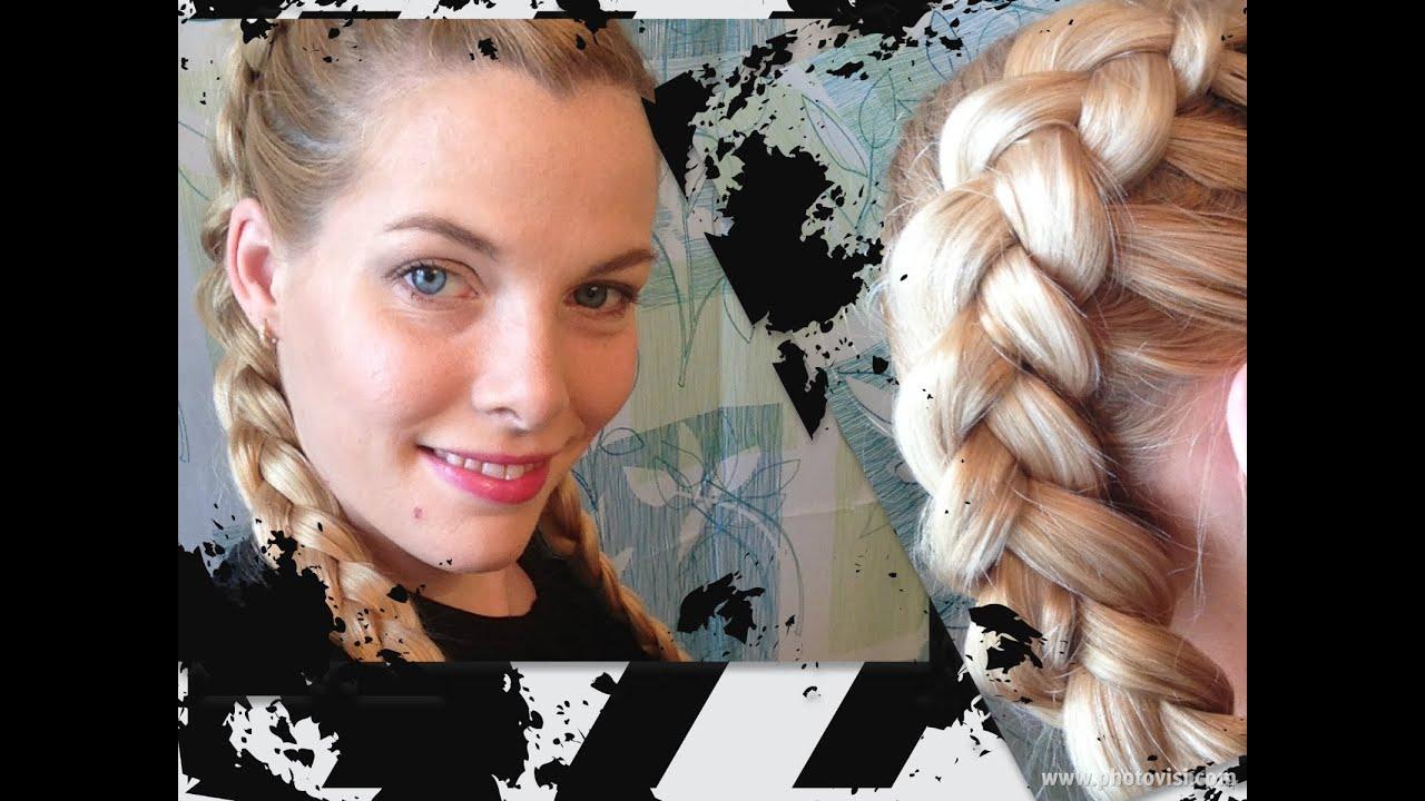 Double Dutch Braid Hair Tutorial - YouTube