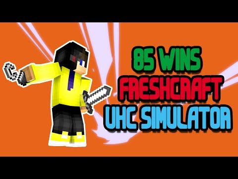 85 WINS EN UHC SIMULATOR! (Freshcraft UHC Simulator)