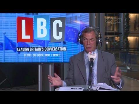 The Nigel Farage Show - Libdem Manifesto - Second EU Ref Confirmed - 17/05/2017