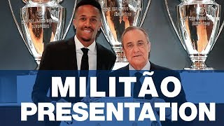 LIVE | Éder Militão's Real Madrid presentation