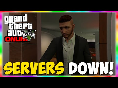 GTA 5 Online Servers Temporarily Down Due to @RockstarGames Maintenance! (GTA 5 Gameplay)