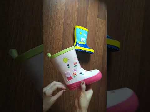 резиновые сапоги для девочек и мальчиков
