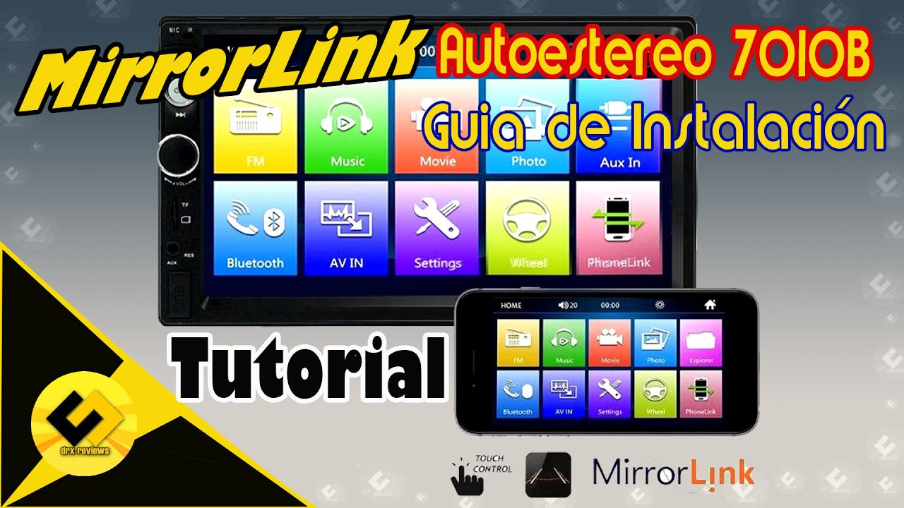 Mirrorlink 7010B Android Setup Tutorial