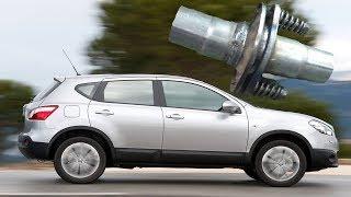 Nissan Qashqai Замена фланцевого соединения катализатора!