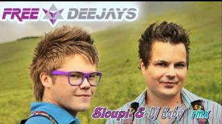 Free Deejays - Around the world (Sloupi & Dj Boby remix)