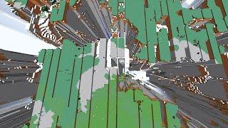 Minecraft - Que pasa en este lugar secreto de Minecraft!? Visitando Farlands