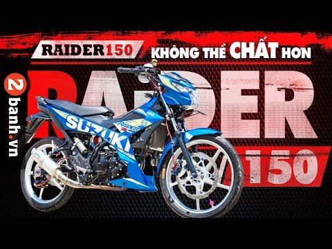 Raider 150 độ kiểng không thể CHẤT hơn   2banh Review