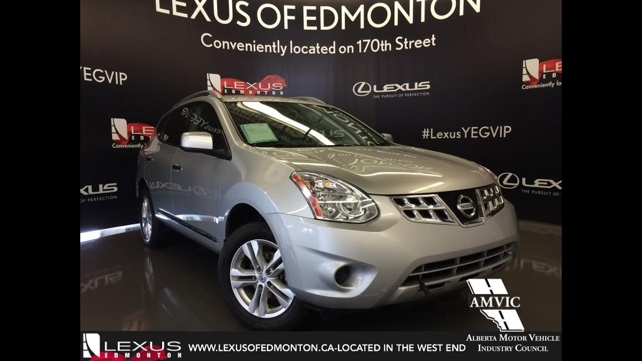Used 2013 Silver Nissan Rogue AWD SV Walkaround Review | Spruce Grove  Alberta