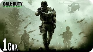 CALL OF DUTY 4 MW | REMASTERED | Cap.1 TRIPULACIÓN PRESCINDIBLE | ESPAÑOL (1440p HD) Gameplay