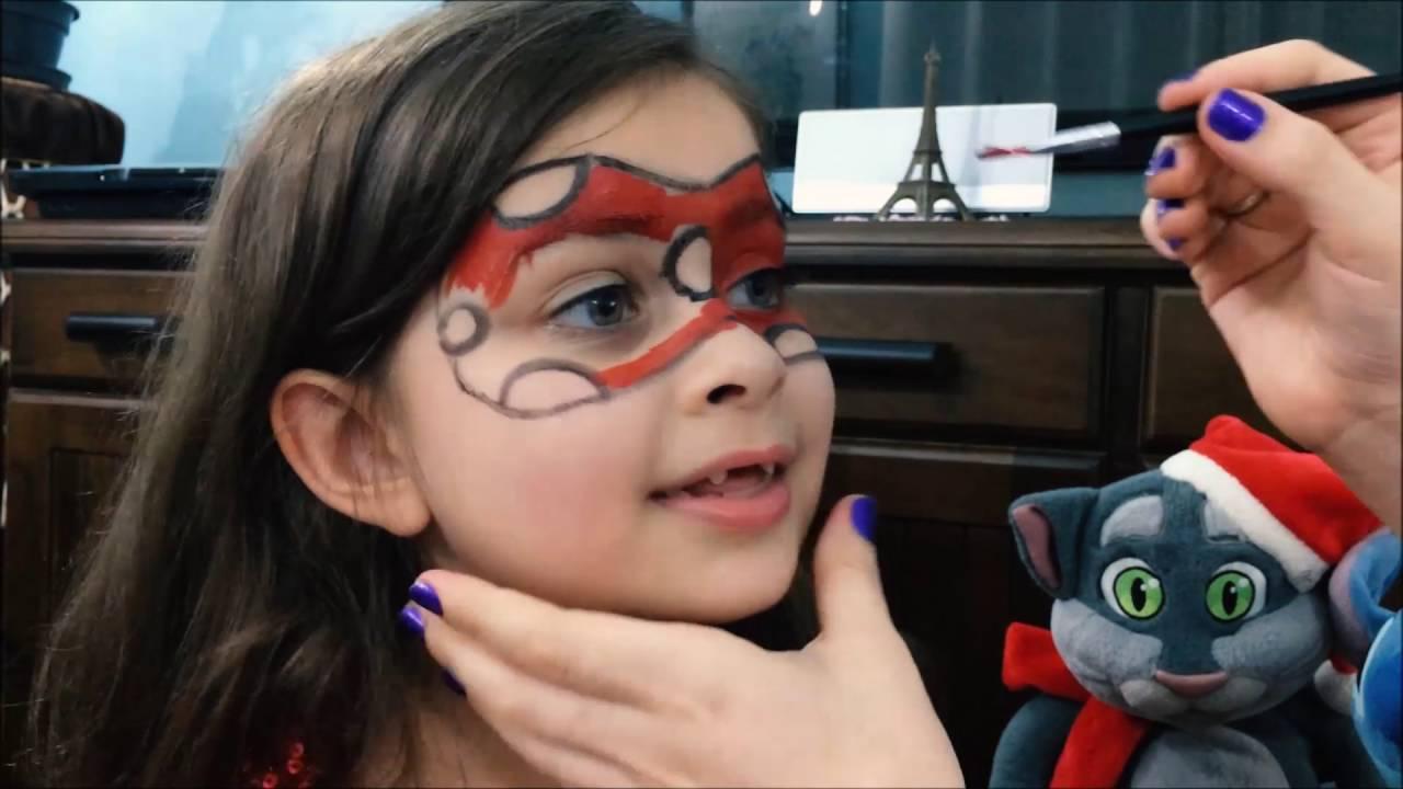 Meu Tutorial De Maquiagem Da Ladybug Miraculous Makeup Youtube