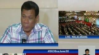 GMA: Duterte, nakilala sa mala-bakal na istilo ng pamumuno bilang Davao City mayor