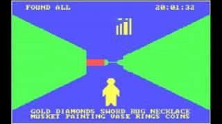 Treasure Hunt gameplay (PC Game, 1982)