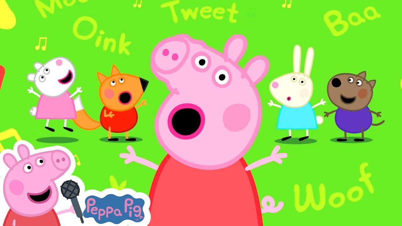 Animal Noises Song with Peppa Pig   Peppa Pig Songs   Peppa Pig Nursery Rhymes & Kids Songs