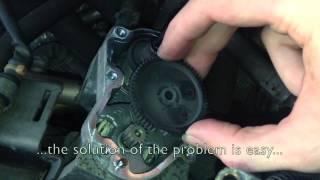 How to repair EGR on 2.0 FSI 110kW  / Jak opravit EGR ventil u motoru FSI