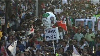 Meksika'da öğrenciler grevde