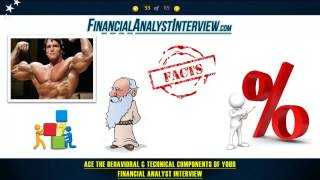 Ace The Financial Analyst Interview Seminar: Financial Analyst Interview Questions - (Part 6 of 6)