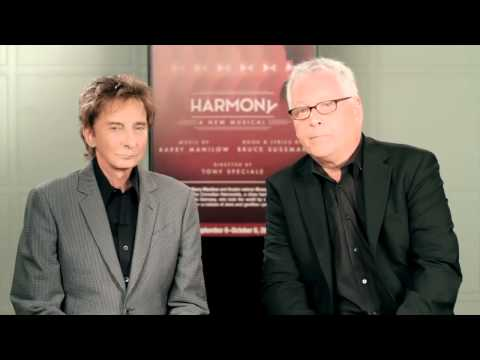 Barry Manilow, Bruce Sussman and Tony Speciale on Harmony