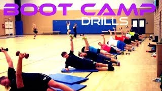 Boot Camp Drills - New ways to Train your Clients