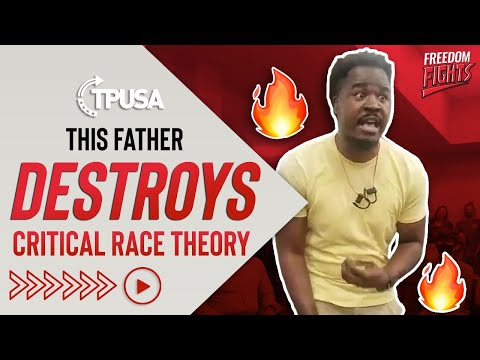 This Father DESTROYS Critical Race Theory!