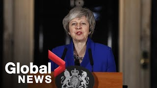 Theresa May 'focused on finding a way forward' on Brexit