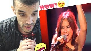 Let's Get Loud with Alisah Bonaobra's J.Lo track | Live Shows | The X Factor 2017 |REACTION| جزائري