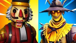 Top 10 Scariest Fortnite Skins! (Fortnite Battle Royale)