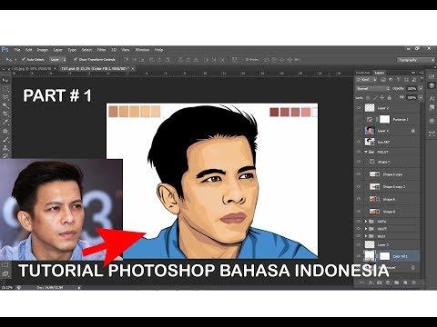 tutorial photoshop vector vexel khusus pemula part # 1