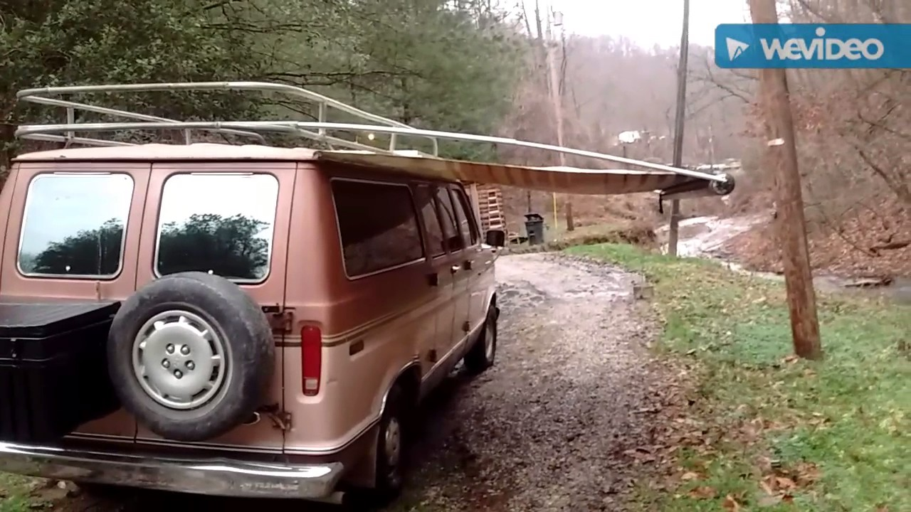 Camper Van Awning Youtube