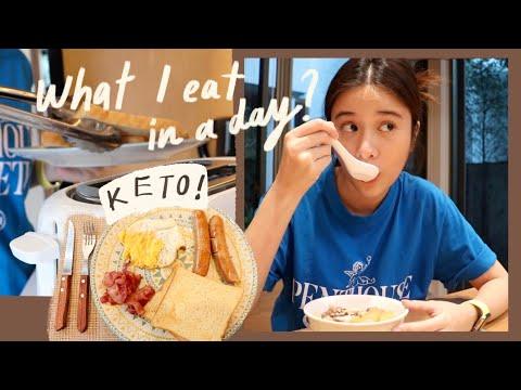What I eat in a day? (keto) | KaoSupassara