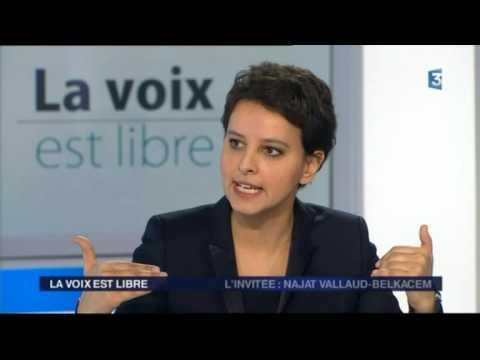 La voix est libre de Najat Vallaud-Belkacem