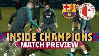INSIDE CHAMPIONS | Barça - Slavia (Match Preview)