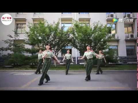 Chinese PLA female soldiers show off their swag dance moves
