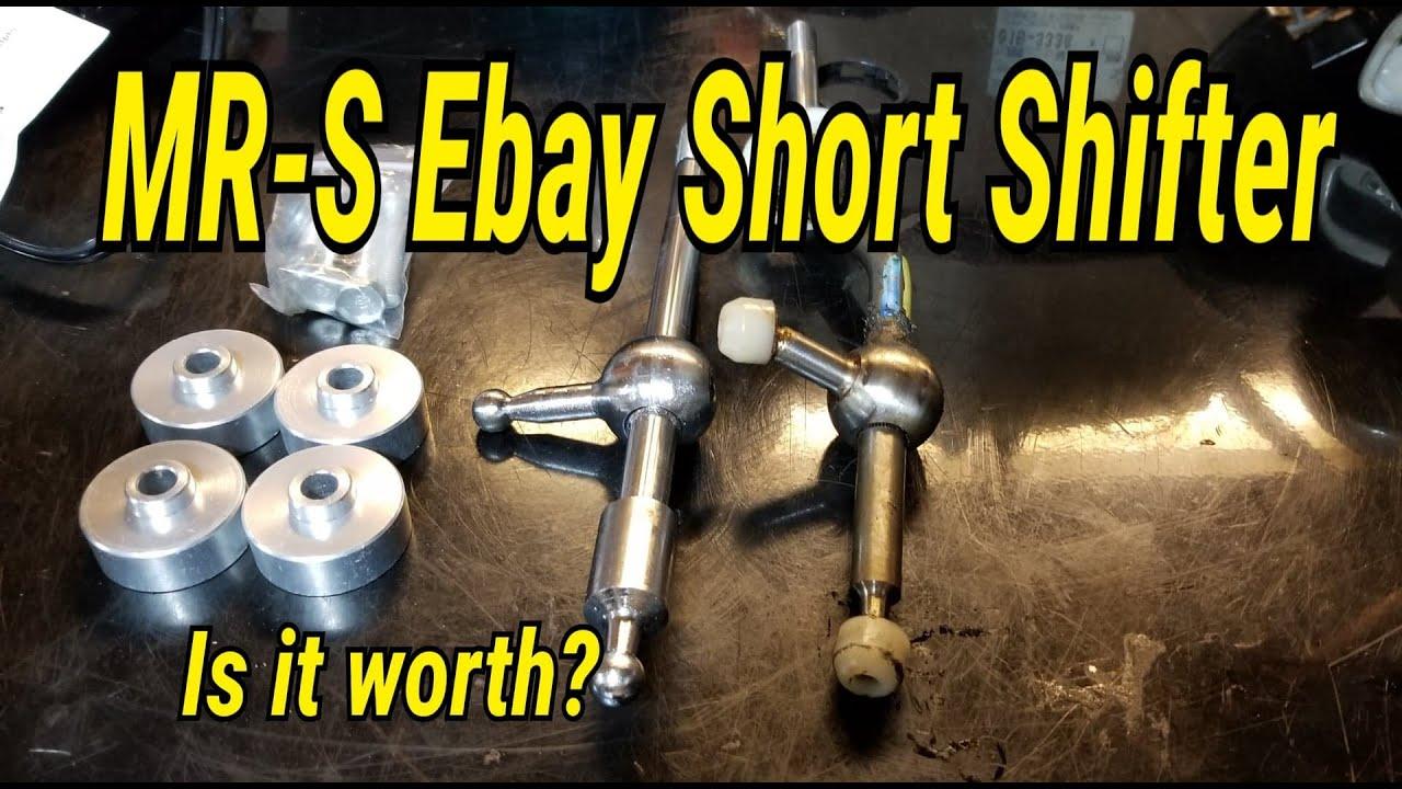 MR2 Spyder Ebay Short Shifter Install